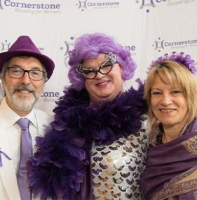 Purple tie events picture