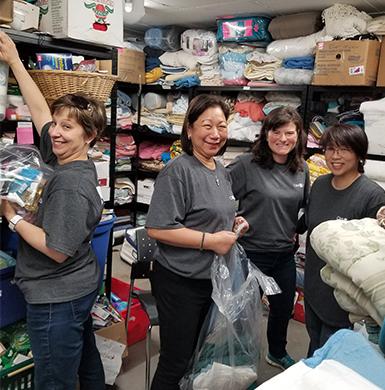 Group of Volunteer